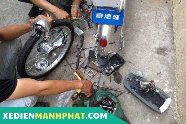 sửa xe điện