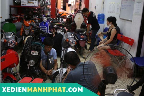 Sửa xe đạp điện Huyện Củ Chi