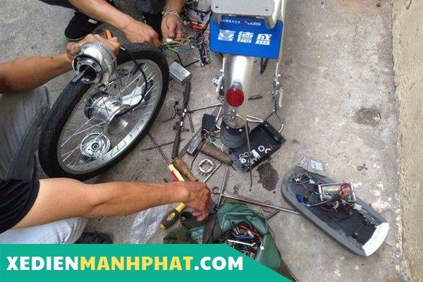 Sửa xe đạp điện Quận Gò Vấp