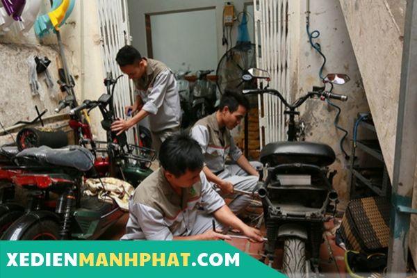 Sửa xe đạp điện Quận Tân Phú