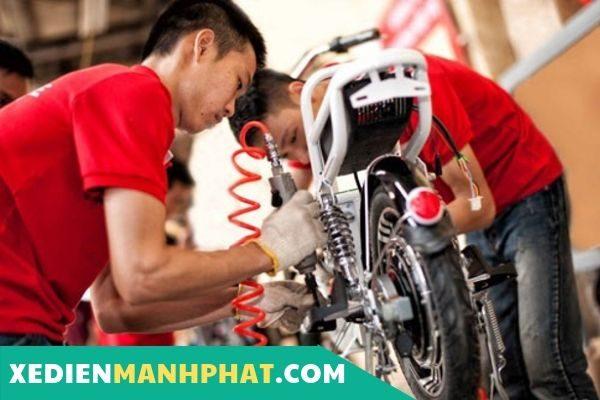 Dịch vụ sửa xe đạp điện tại nhà