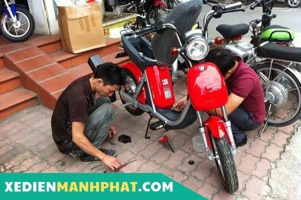 Sửa xe đạp điện tại nhà