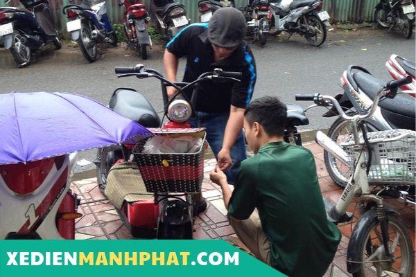 Sửa xe đạp điện Quận Bình Tân